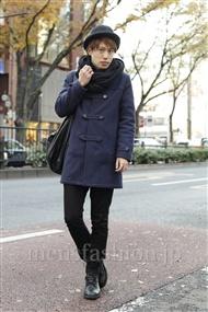 ファッションコーディネート原宿・表参道 2011年12月 菊池快瑠さん