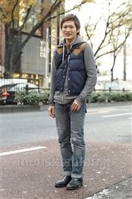 ファッションコーディネート原宿・表参道 2011年12月 渡部正馬さん