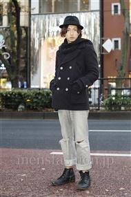 ファッションコーディネート原宿・表参道 2011年12月 玉木 亮さん