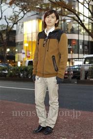 ファッションコーディネート原宿・表参道 2011年12月 Ryo Konishiさん