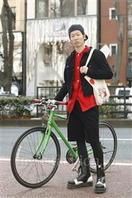 ファッションコーディネート原宿・表参道 2012年01月 中嶋晃之さん