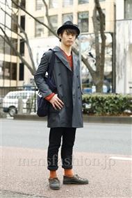 ファッションコーディネート原宿・表参道 2012年01月 武井佑樹さん
