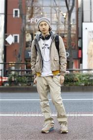 ファッションコーディネート原宿・表参道 2012年01月 SOE さん