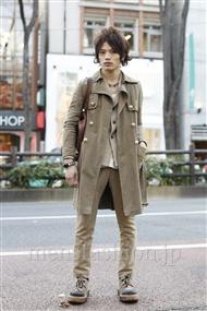 ファッションコーディネート原宿・表参道 2012年01月 上野 亮さん