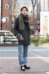 ファッションコーディネート原宿・表参道 2012年01月 DAIKIさん