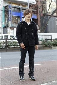 ファッションコーディネート原宿・表参道 2012年01月 倉島良彰さん