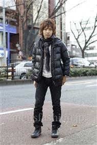ファッションコーディネート原宿・表参道 2012年01月 入江 誠さん