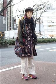 ファッションコーディネート原宿・表参道 2012年01月 カガラシュンさん