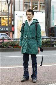 ファッションコーディネート原宿・表参道 2012年01月 渡邊大樹さん