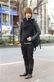 ファッションコーディネート原宿・表参道 2012年01月 新田快広さん