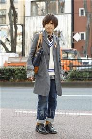 ファッションコーディネート原宿・表参道 2012年01月 木村辰哉さん