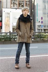 ファッションコーディネート原宿・表参道 2012年01月 松金祐大さん
