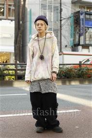 ファッションコーディネート原宿・表参道 2012年01月 カワイコウジさん
