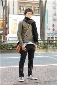 ファッションコーディネート原宿・表参道 2012年01月 伊藤隼基さん
