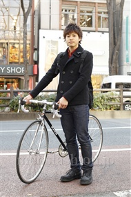 ファッションコーディネート原宿・表参道 2012年01月 上野宏隆さん