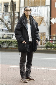ファッションコーディネート原宿・表参道 2012年01月 ヒロくんさん