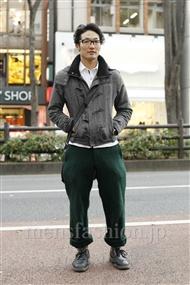ファッションコーディネート原宿・表参道 2012年01月 ダイさん