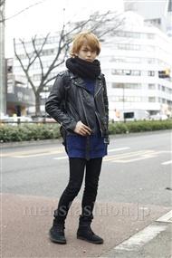 ファッションコーディネート原宿・表参道 2012年01月 斎藤亮太さん