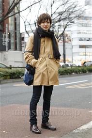 ファッションコーディネート原宿・表参道 2012年01月 吉田幸平さん