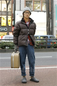 ファッションコーディネート原宿・表参道 2012年01月 中嶋時男さん