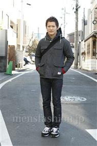 ファッションコーディネート原宿・表参道 2012年01月 ワタベショウマさん
