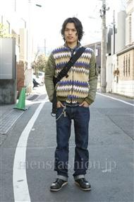 ファッションコーディネート原宿・表参道 2012年01月 青山清志さん