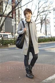 ファッションコーディネート原宿・表参道 2012年01月 菊池快瑠さん