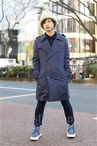ファッションコーディネート原宿・表参道 2012年01月 日野達也さん