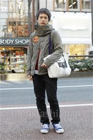 ファッションコーディネート原宿・表参道 2012年01月 伊藤健人さん