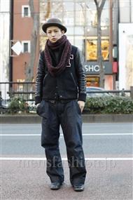 ファッションコーディネート原宿・表参道 2012年01月小島慶大さん
