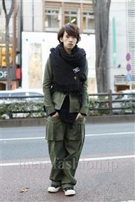 ファッションコーディネート原宿・表参道 2012年01月 浦辻大奨さん