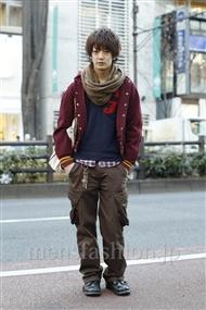 ファッションコーディネート原宿・表参道 2012年01月 大倉士門さん
