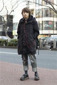 ファッションコーディネート原宿・表参道 2012年01月 藤田純太さん