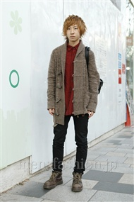 ファッションコーディネート原宿・表参道 2012年01月 岡田匠人さん