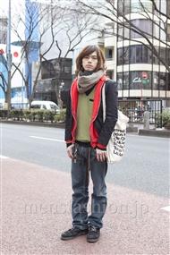 ファッションコーディネート原宿・表参道 2012年02月 小西 涼さん