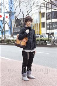 ファッションコーディネート原宿・表参道 2012年02月 高田孝太郎さん