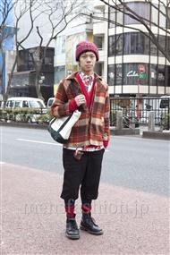ファッションコーディネート原宿・表参道 2012年02月 矢沢俊介さん