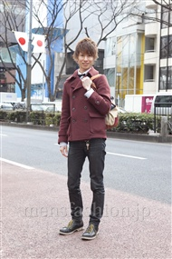 ファッションコーディネート原宿・表参道 2012年02月 矢島 聖さん