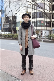 ファッションコーディネート原宿・表参道 2012年02月 松金祐大さん