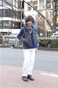 ファッションコーディネート原宿・表参道 2012年02月 木村辰哉さん