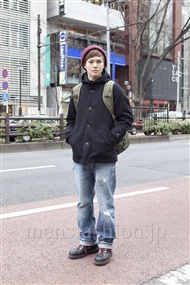 ファッションコーディネート原宿・表参道 2012年02月 根本晋太郎さん