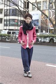 ファッションコーディネート原宿・表参道 2012年02月 kevinさん