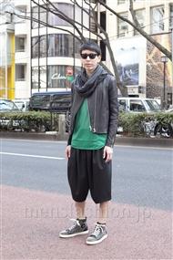 ファッションコーディネート原宿・表参道 2012年02月 リョウさん