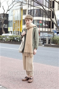 ファッションコーディネート原宿・表参道 2012年02月 森 啓輔さん