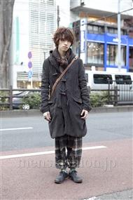 ファッションコーディネート原宿・表参道 2012年02月 浦辻大奨さん