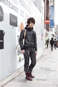 ファッションコーディネート原宿・表参道 2012年02月 大倉士門さん