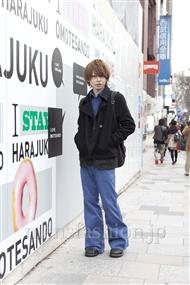ファッションコーディネート原宿・表参道 2012年02月 斎藤亮太さん