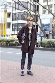 ファッションコーディネート原宿・表参道 2012年02月 河田智博さん
