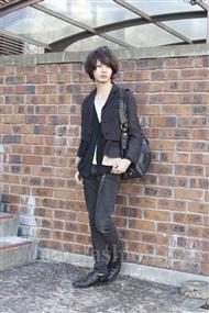 ファッションコーディネート原宿・表参道 2012年02月 藤木亮介さん