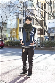 メンズファッション.jp注目コーディネート 2012年02月 溝口健太さん